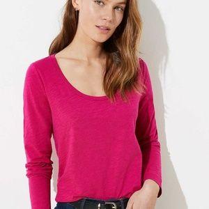 NWT Ann Taylor Loft Women Long Sleeve T-Shirt Top
